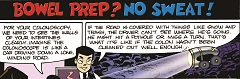 Bowel Prep Comic Strip